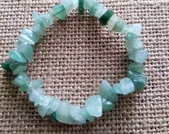 Green aventurine yoga bracelet