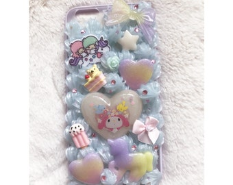 RTS Lts X My melody iPhone 6/6s Plus Decoden Case