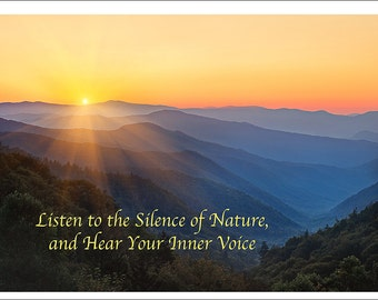 Smoky Mountains Hand Made Greeting Cards from William Britten Photography