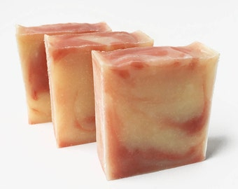Buy 3 and SAVE, Handmade Soap, Christmas Gift, Gift for Her, Cold Process Soap, Bar Soap, Gift Set, Vegan, Palm Free Soap, Paraben Free