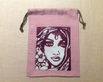 """Pouch, lingerie bag: """"beauty of the South"""""""