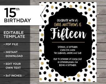 15 birthday invitations akbakatadhin 15 birthday invitations filmwisefo