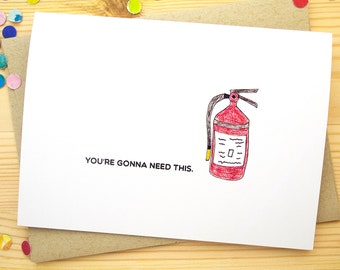 Funny Birthday Card for Him, Birthday Card Funny Birthday Card for Dad Happy Birthday Card for Her Over the Hill Birthday Card for Husband
