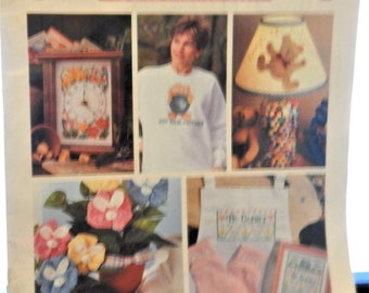 1993 Spring Leisure Art Publication...CELEBRATIONS to cross-stitch and craft...21 projects to welcome spring