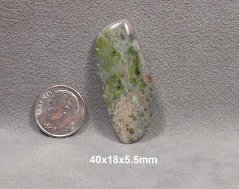Copper in Rhyolite Cabochon