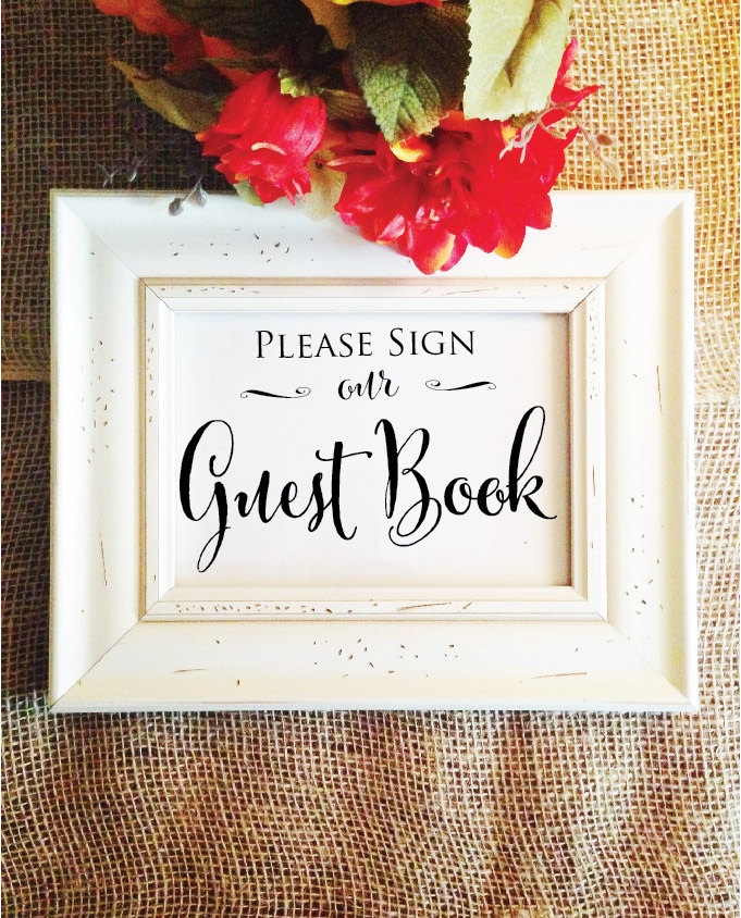 guestbook for wedding reception - Selo.l-ink.co