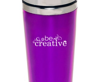 Be Creative Purple Tumblers
