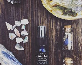 Dead Sea Salt Spray - For Beach Wave Hair - Vegan Texturizing Hair Spray - All Natural Organic - Cruelty Free 2 oz.