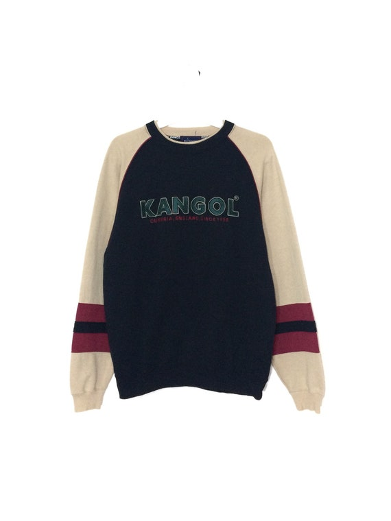 Vintage KANGOL sweatshirt crewneck spell out oNxwME1