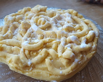 Food Soap - Funnel Cake Vegan Soap - Fun Soap - Novelty Soap