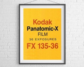Rolleicord tlr camera poster art print blueprint kodak panatomic x vintage film box 35mm film ilford agfa art malvernweather Image collections