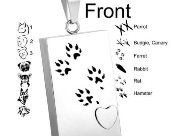 Personalized Cremation Jewelry / Urn / Pendant