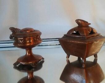 Cute pair of miniature holders