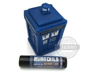 CLEARANCE! Asian Child - Gold Dust Flavor Doctor Who Inspired Lip Balm Geek Stix - Chang Lee - Shimmer