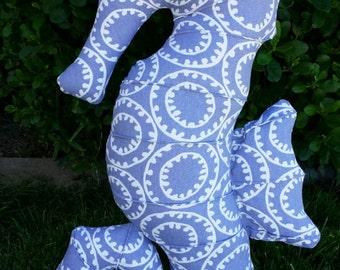 Handmade Periwinkle Seahorse