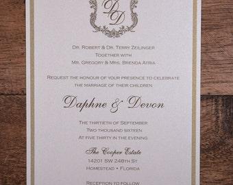 Royal Wedding Invitation, Royal Invitation, Royal Wedding Invitations,Royal Invitations, Royal Gold Invitation,Royal Gold Wedding Invitation