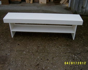 bench, entry bench, entryway bench, farmhouse bench, wood bench, recycled bench, rustic bench, solid wood bench,white bench,dining room