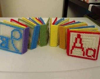 Plastic Canvas ABC, 123 Book Set