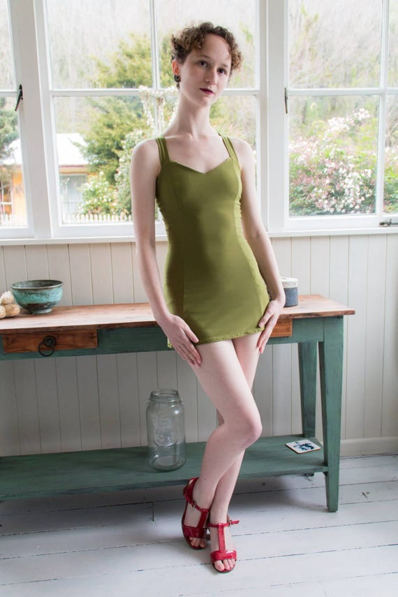 1930s Swimsuits- Pictures and History swimsuit one-piece retro (Hortense)swimsuit one-piece retro (Hortense) $91.64 AT vintagedancer.com