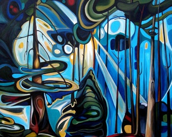 "Canvas Print Emily Carr Forest 10x8"" 14x11"" 20x16"" 28x20"" 40x28"""