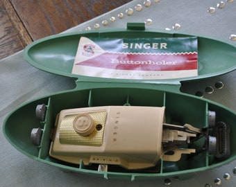 Singer Buttonholer No. 489500 and 489510
