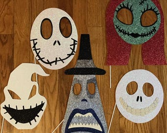 Nightmare Before Christmas Photo Booth Props