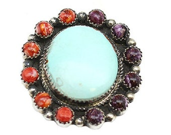 Multi Color Cluster Ring