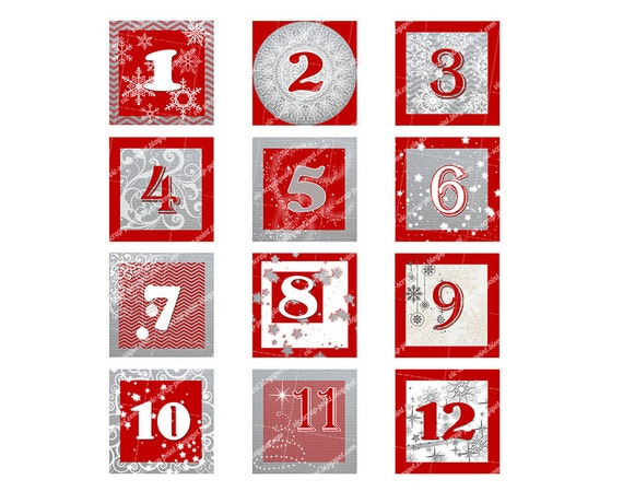 It is a picture of Bewitching Printable Christmas Numbers