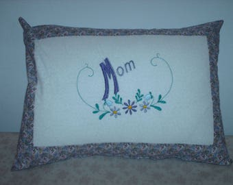 """Embroidered Mother""""s Day Pillow"""