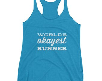World's Okayest Runner Tanktop