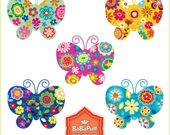 Instant Downloads, Butterfly Clip Art For Your Handmade Crafts Making DIY Projects. Personal and Small Commercial Use. BP 0271
