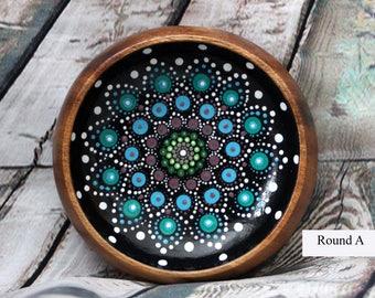 Lagoon Jewel Drop Mandala Bowl