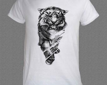 Tiger Cat  Animal Nature T-shirt