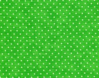 Moda Essential Dots #8654-33 Grass Green - 1 Yard Cut
