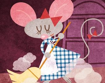 Tales - Pretty Ritty print children kids illustration room decoration