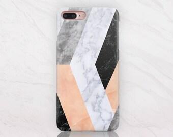 Marble iPhone 7 Case iPhone 7 Plus Case Geometric Case Marble Case iPhone 5 Case for Samsung S5 Case Samsung S6 Case for Samsung Edge RD1602