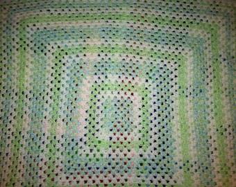 Baby Blanket- Large Granny Square