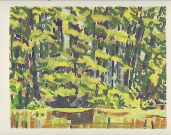 Riverside Cemetery Forest by Lucinda Clarke