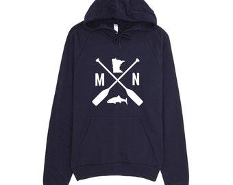 Minnesota Sweatshirt | Minnesota Hooded Sweat Shirt | Minnesota Hoodie |Minnesota Gift | Minnesota Clothing