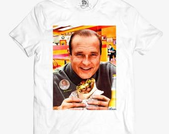 Jacques Chirac Burrito T-shirt