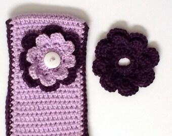 Purple Ear Warmer