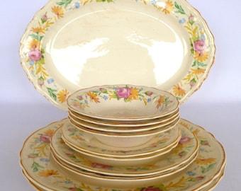 Vintage EDWIN KNOWLES DINNERWARE assortmant