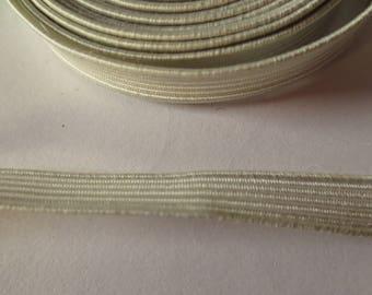 Standard white elastic, 7.5 mm wide, 289 cm