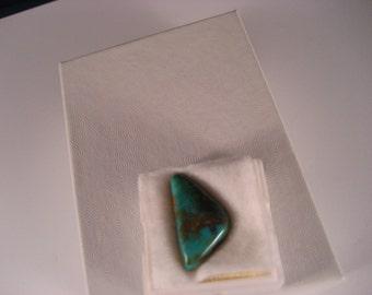 1 Royston Turquoise Cabochon 6.55 Carat 22 mm x 12 mm