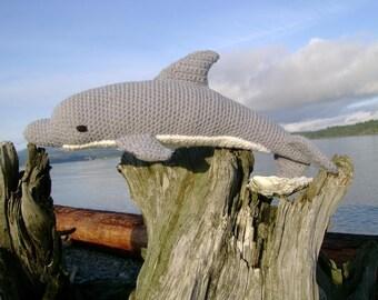 Dolphin PDF Crochet Pattern