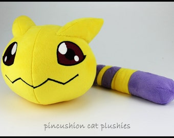 Nyaromon plushie - made to order