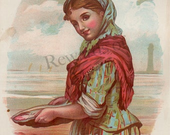Pioneer Women - Antique Postcards SET OF 4