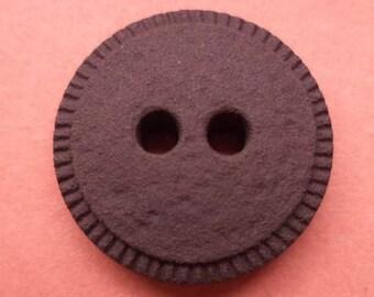10 buttons 16mm dark brown (3556) Brown