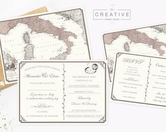 The Sorrento Wedding set