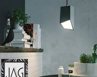 Lamp shade concrete